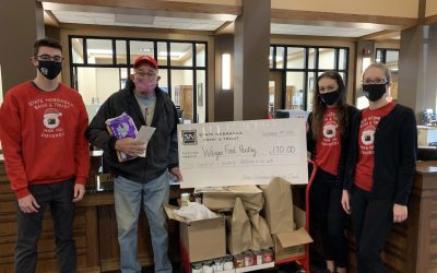 SNB Employees DONATE TO the Wayne Food Pantry