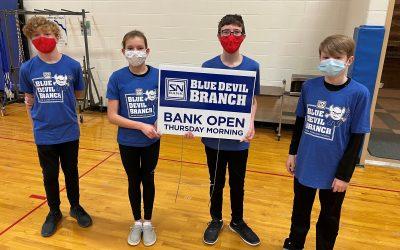 In-School Bank Reopens at Wayne Elementary