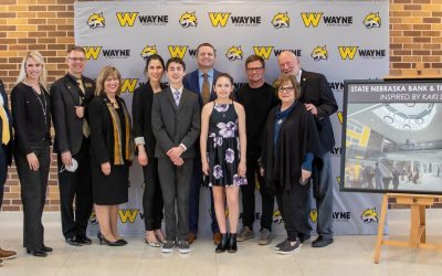 Bank Recognizes Kaki Ley with Gift to Wayne State Peterson Fine Arts Renovation