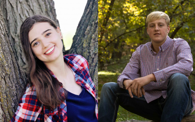 Eilers and Vovos Receive SNB FFA Scholarships