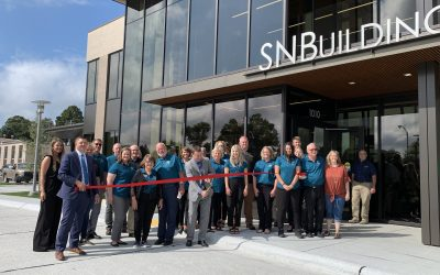 Great Turnout for SNBuilding Ribbon Cutting